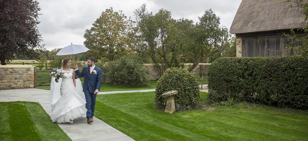 Blackwell Grange Outdoor Wedding Shot