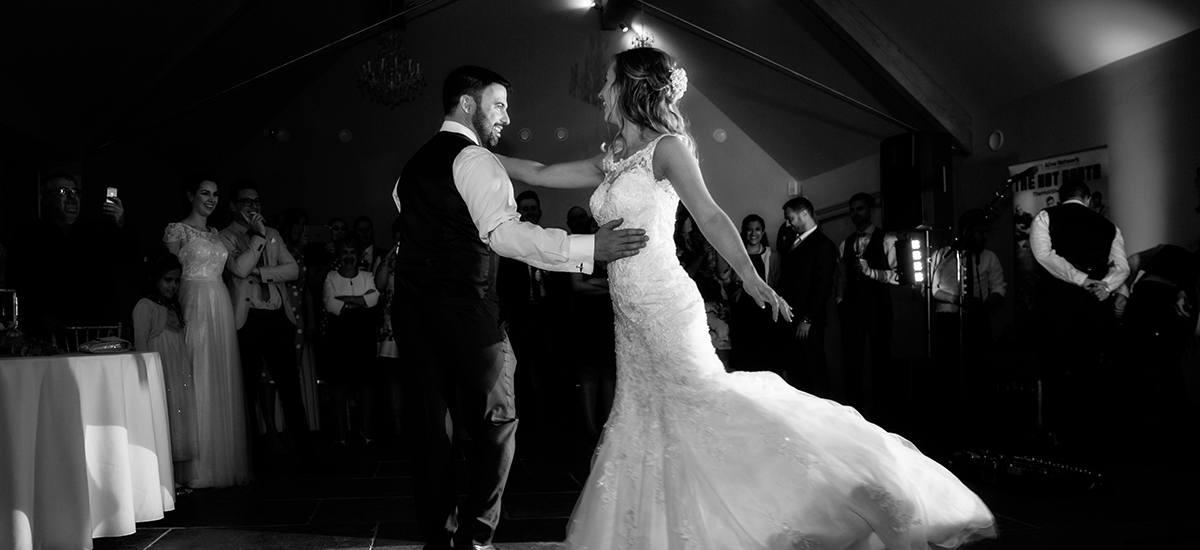 First Wedding Dance at Blackwell Grange