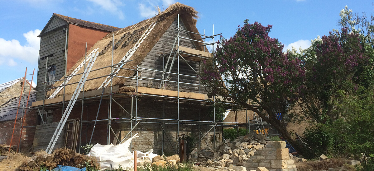 Blackwell Grange In The Making