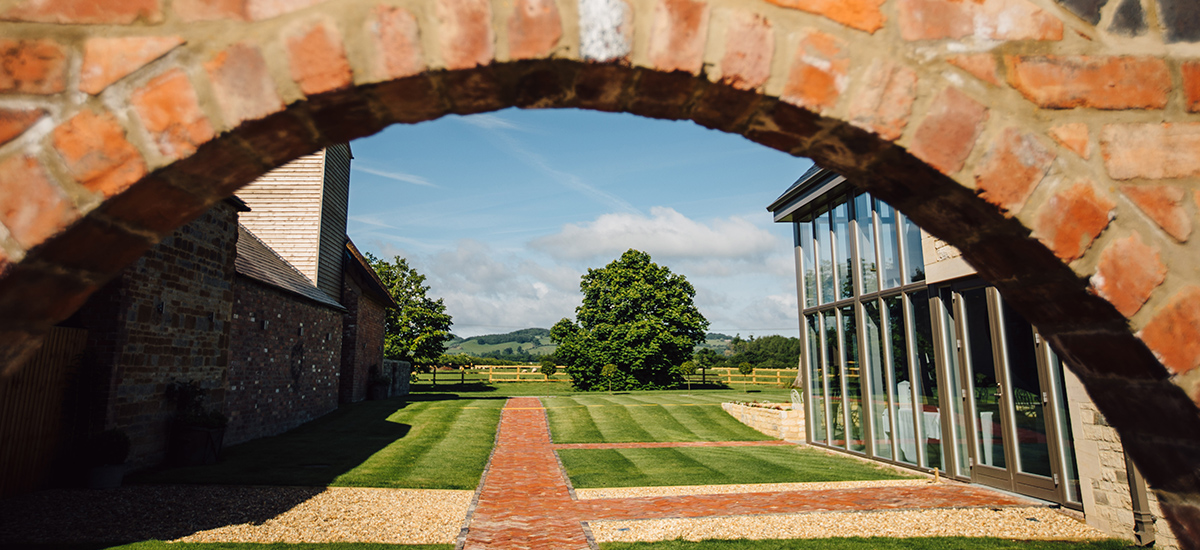 Wake up the morning after your wedding day to beautiful countryside views at this stunning Cotswold wedding venue