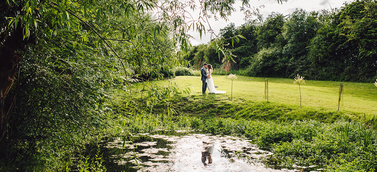 Enjoy the beautiful outdoor spaces at Blackwell Grange for reception drinks, wedding photos or just to steal a moment away